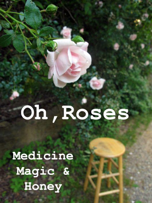 Rose honey and rose liquor
