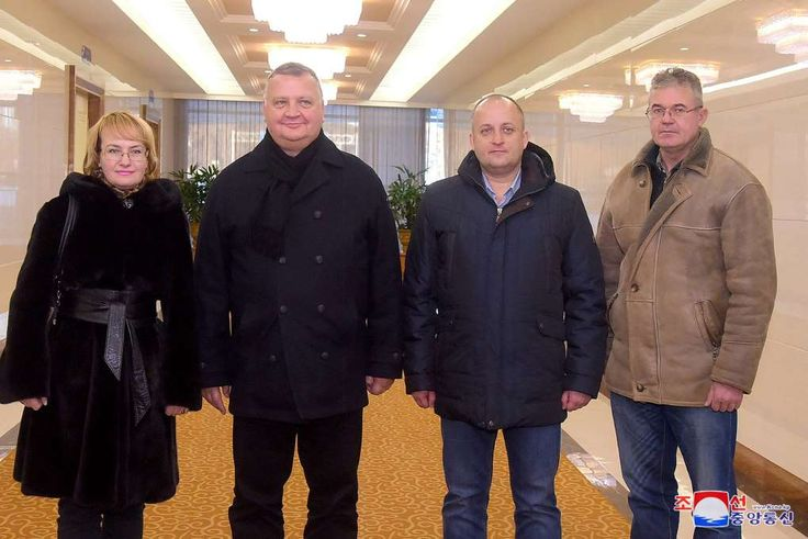 Russian military officials arrive in North Korea as Tillerson softens stance   -  December 13, 2017.  Image: Victor Kalganov, vice-director of the National Defense Command Center of the Russian Federation (center-left) in Pyongyang with three unidentified Russian defense ministry officials.Victor Kalganov, vice-director of the National Defense Command Center of the Russian Federation (center-left) in Pyongyang with three unidentified Russian defense ministry officials.: Victor...