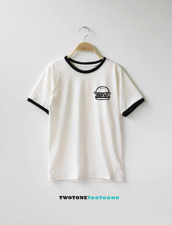 Hey, I found this really awesome Etsy listing at https://www.etsy.com/listing/250324642/hamburger-shirt-tshirt-t-shirt-t-shirt