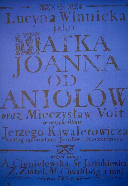 SWIERZY: Matka Joanna od aniolow