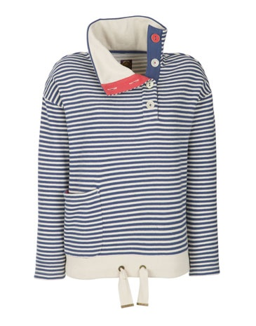 i love the buttons and draw string and stripes and colors