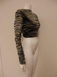 So many ways to wear it! Trinity Tiger Top Side.