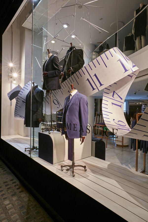 Jaeger - Made to Measure - Retail Focus - Retail Interior Design and Visual Merchandising