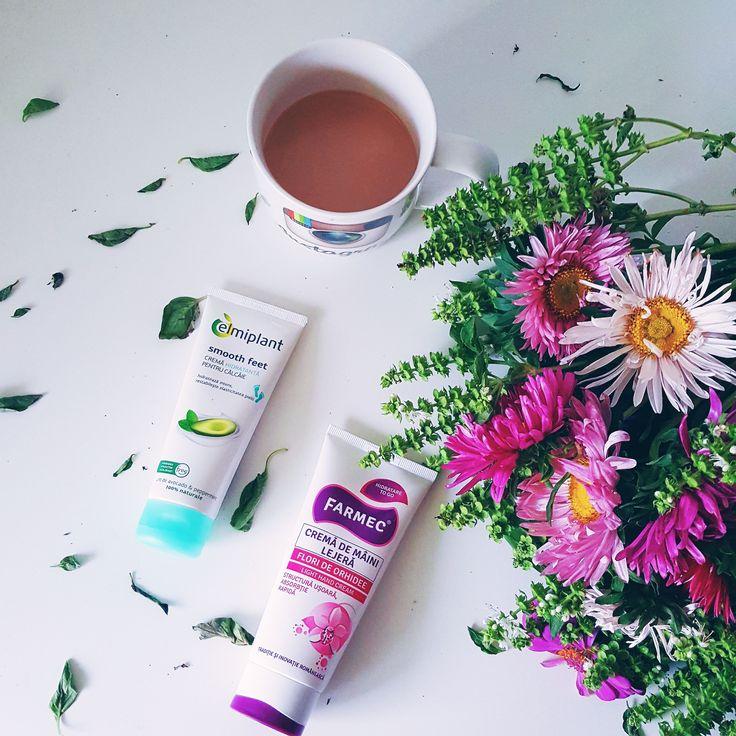Bună dimineața! O săptămână frumoasă îți doresc! Două produse mai puțin cunoscute dar pe care le iubesc, sunt aceste două creme.  Cea de la @elmiplant pentru picioare este lejeră și foarte hrănitoare.  Cea de la @farmec pentru mâine este super ușoară și foarte hidratantă.  Le-ai încercat? Ce cremă de mâini folosești azi? www.DeboraTentis.ro #farmacistonline   #skincareblogger #skincarelover #elmiplant #farmec #brandromanesc #ingrijire #morning #morningroutine