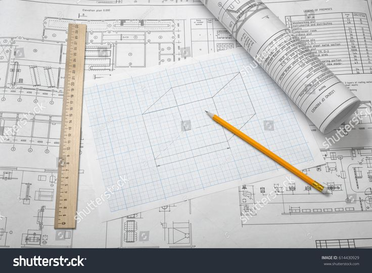 The 18 best welders custom fabrication designs images on a set of open and rolled up blueprints on wooden table background with a pencil and malvernweather Gallery