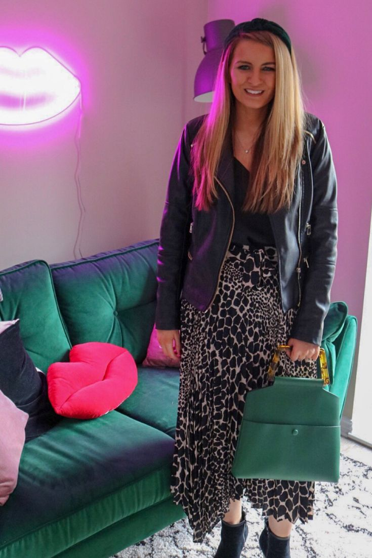 7bb98c4aa Animal print is huge for SS19 I love this Topshop Giraffe print skirt. Easy  to style.
