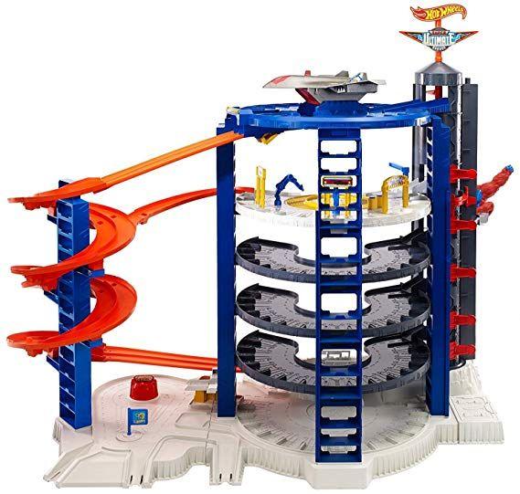 Amazon Com Hot Wheels Super Ultimate Garage Playset Toys Games