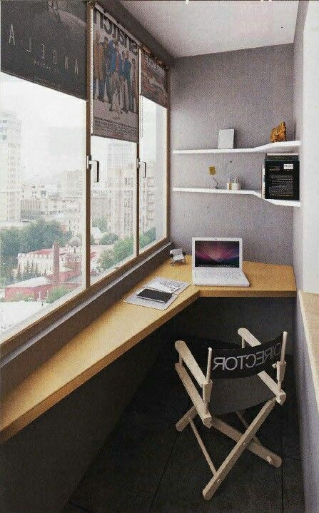 Narrow office / Study