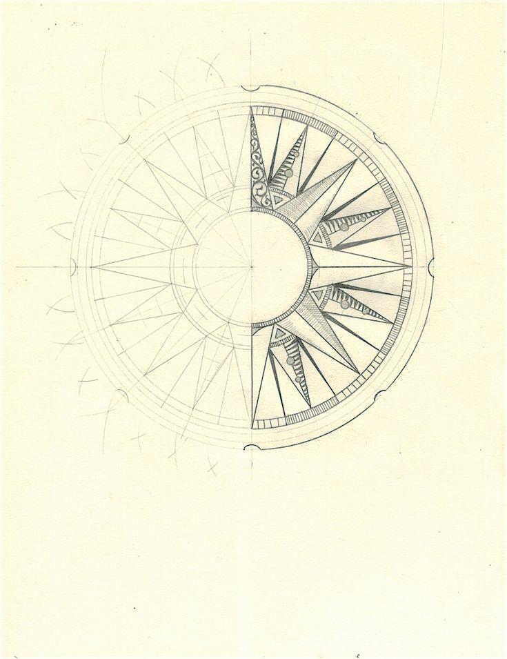 Best 25 Rosa de los vientos dibujo ideas on Pinterest  Mapa de
