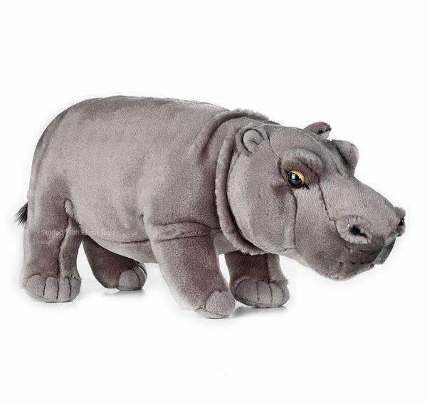 Hippo Hippopotamus Stuffed Animal - National Geographic