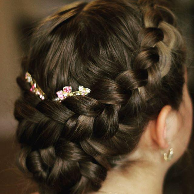 Hair by Loredana CERNISOV   @ Xpression Studio&Academy  www.xpression.ro  #hair #hairstyle #haircolor #hairoftheday #hairdye #style #hairideas #braid #fashion #hairdo #instagood #braidideas