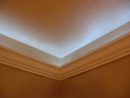 lighting crown molding. Crown Molding With Light...such A Cool Ambient Effect Lighting