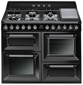 What is old is new. A tribute ovens of the past with technology of the future is the Smeg Victoria cooker.