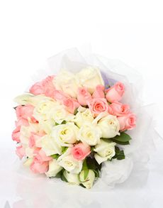 Singapore Flowers: So Lovely Together Rose Bouquet!