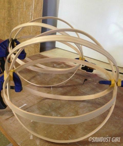 DIY Decorative Wood Spheres