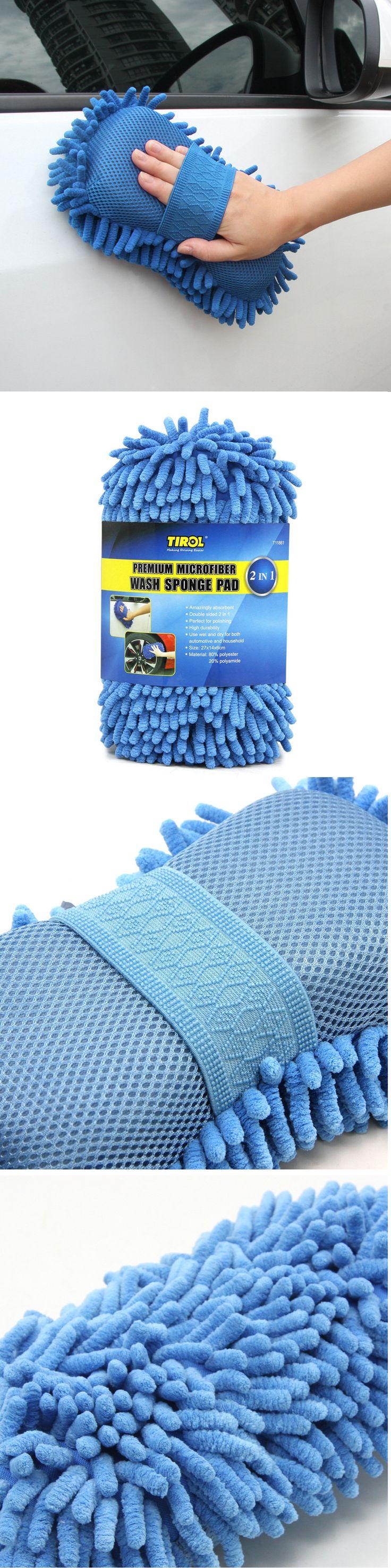 US$5.99 Car Coralline Sponge Microfiber Washer Clean Wash Towel Cleaning Duster