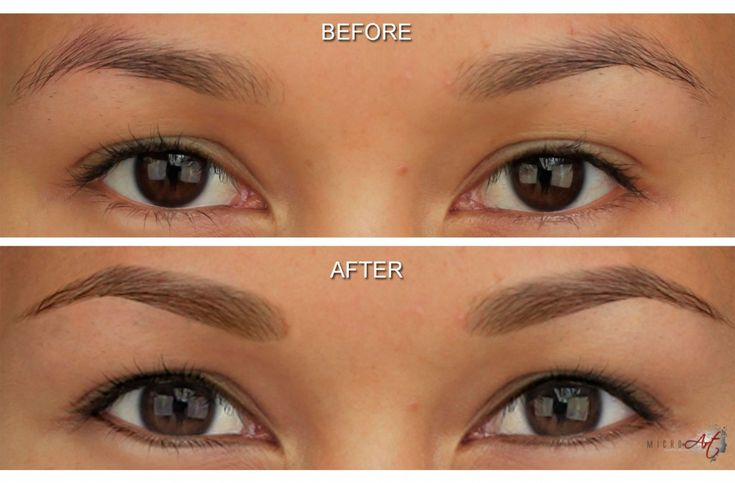 Finally! Eyebrow tattooing with hair stroke technology.  Absolutely amazing! I will be getting this done once I find a respectable place that does it :)