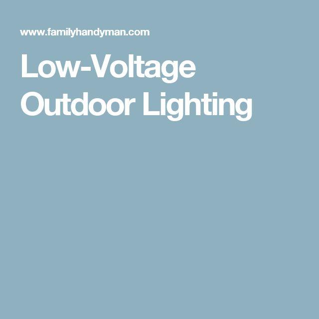 best 25 low voltage outdoor lighting ideas on pinterest