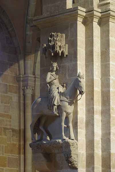 Der Bamberger Reiter / The Bamberg Rider, the symbol of Bamberg, Germany http://suzettenaples.hubpages.com/hub/