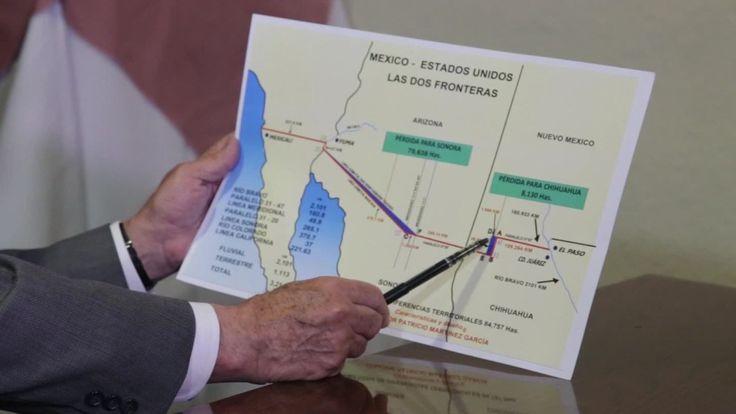 Según la investigación del senador Patricio Martínez, EE.UU. tomó ventaja de errores en el trazo de la línea fronteriza con México para apropiarse de más de 80.000 hectáreas y que esto viola acuerd…