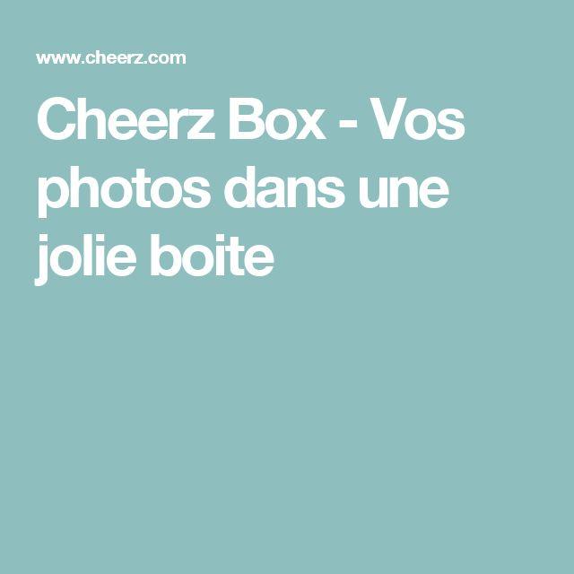 Cheerz Box - Vos photos dans une jolie boite