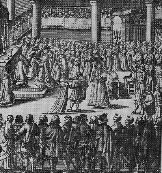 Coronation of Eleonora Wiśniowiecka