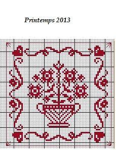 Printemps 2013 (grille gratuite) - Broderies Passion martine290
