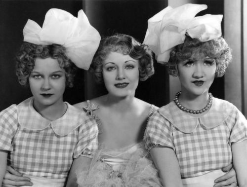 Greta Granstedt, Josephine Dunn, and Kathleen Clifford in Excess Baggage (1928). Greta was born and lived about an hour or so north of me. A friend is writing a book on her.