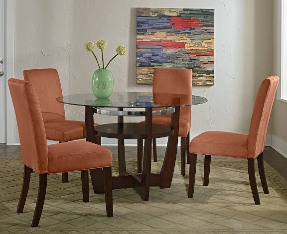 Alcove Orange Dining Room Collection | Furniture.com-Table $219.99