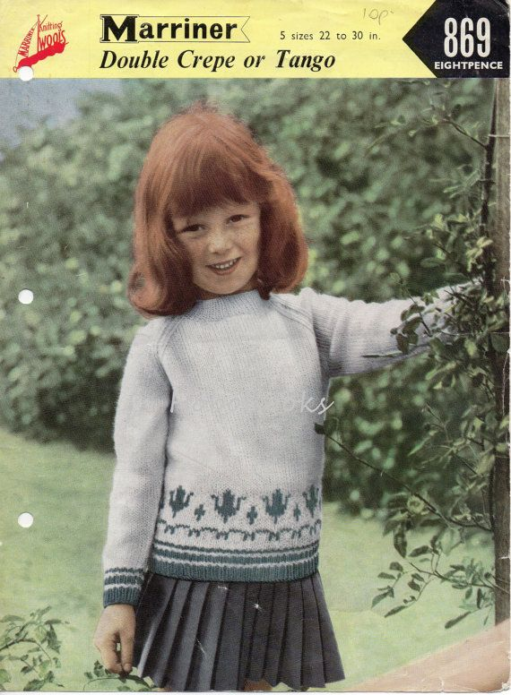 239 best kids jumpers knitting patterns images on Pinterest ...