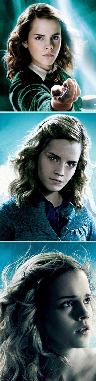 Le marque-page de Harry potter ( Hermione Granger )