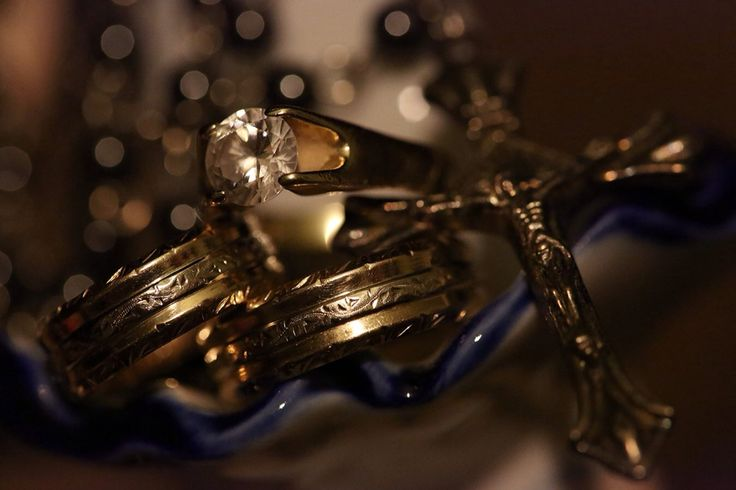 Our wedding rings !  Photo credit: Marius Turcu Photography