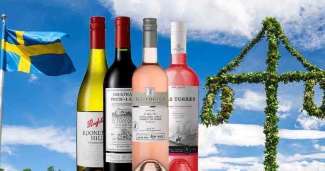 Vin är gott till fester som midsommar. Kolla här vilket vin du ska välja till din mat på midsommarafton. Vinexperten ger tips och har satt betyg.