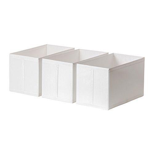 IKEA - SKUBB, Box, white,