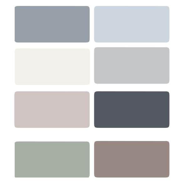 Best Peppercorn Color Pallette Images On Pinterest Paint