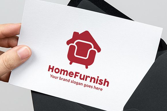Home Furniture Logo on @graphicsmag