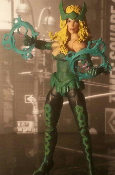 (Amora) The Enchantress (DC Direct) Custom Action Figure