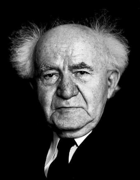"""Startling 1956 quote from Israel's first prime minister David Ben-Gurion: """"The largest and most impressive source of energy in our world and the source of life for every plant and animal, yet a source so little used by mankind is the sun… solar energy will continue to flow toward us almost indefinitely."""" Ben-Gurion initiated the nationwide use of solar power for water heaters, making Israel the first country in the world to use solar power for this purpose."""