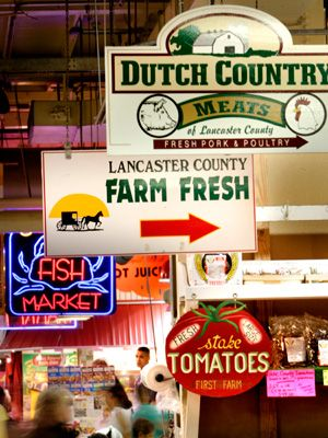 I LOVE THIS PLACE...Reading Terminal Market in Philadelphia (Photo by G. Widman for GPTMC)
