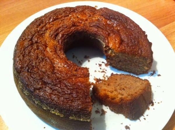 Delicioso bolo de maçã e canela perfeito para diabéticos e