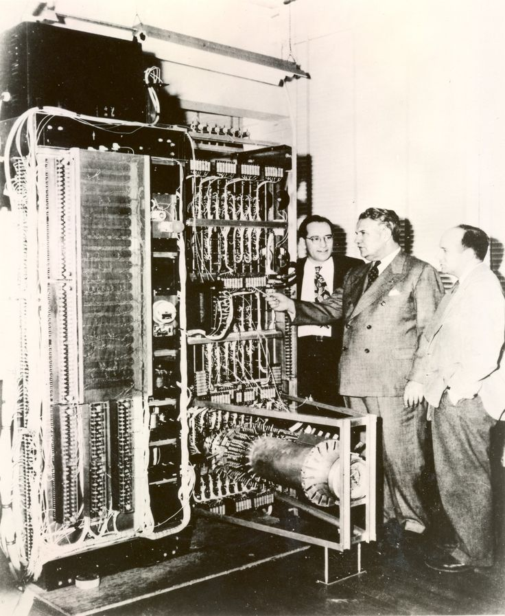 The UNIVAC I, an early commercial computer.Circa  1951