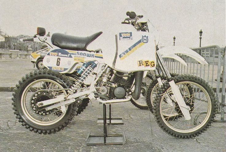 Husqvarna WR 500 1984 - La Storia della Parigi Dakar