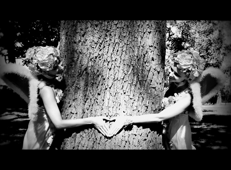My friends - ballet dancers (Midsummer Night´s Dream)
