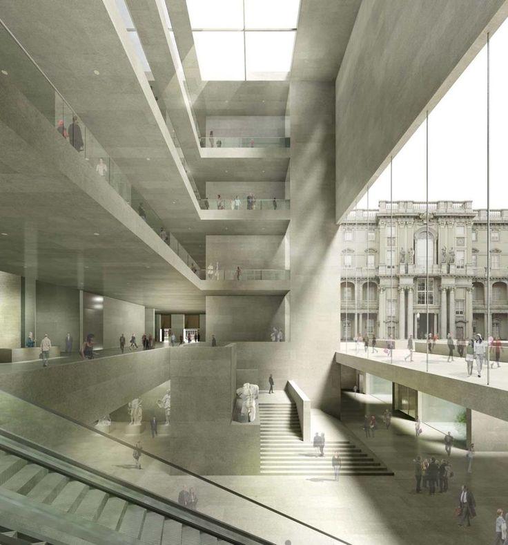 Kleihues + Kleihues, Jan Kleihues · Reconstruction of the Berlin Royal Castle – Humboldt-Forum · Divisare