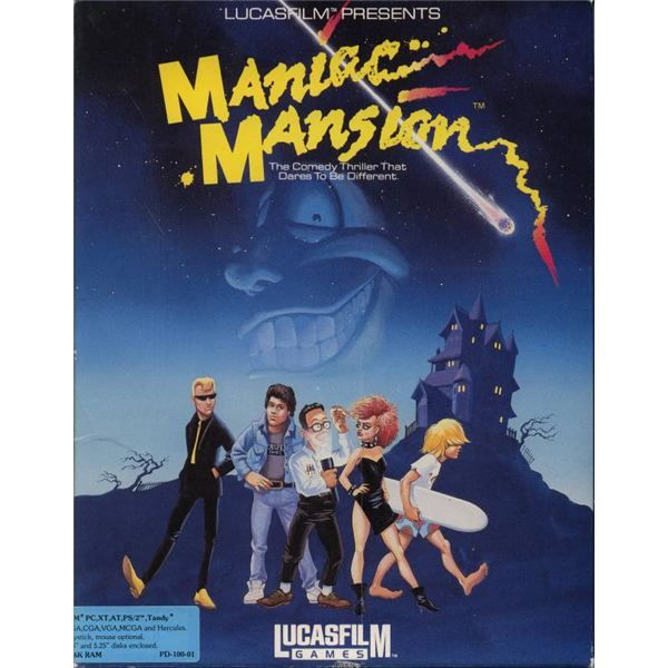 Maniac Mansion PC game