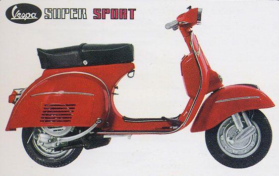 Vespa 180 Super Sport