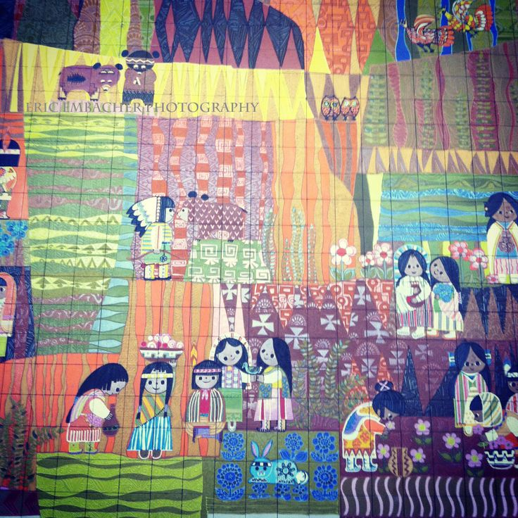 72 best images about mary blair on pinterest disney for Disney world mural