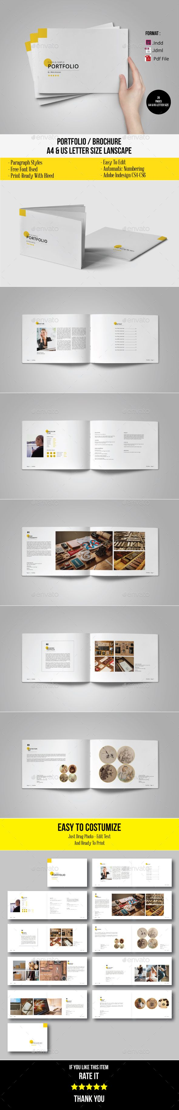 Minimal Brochure / Portfolio / Catalogue Template InDesign INDD. Download here: http://graphicriver.net/item/minimal-brochure-portfolio-catalogue/16211802?ref=ksioks