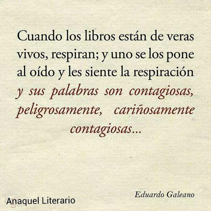 Libros. Galeano.