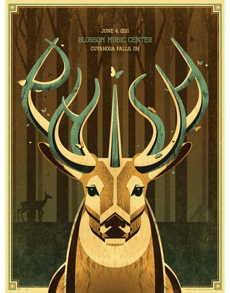 Phish is like whatever but this poster is rad!